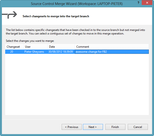 Discard candidate merge changesets | Into ALM with TFS/VSTS