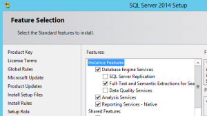 SQL2014-FeatureSelection