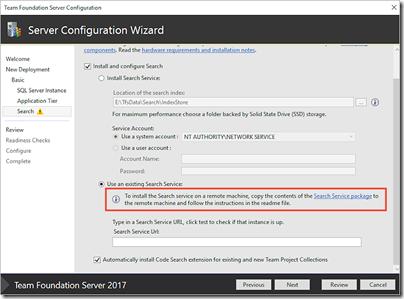 SearchConfiguration